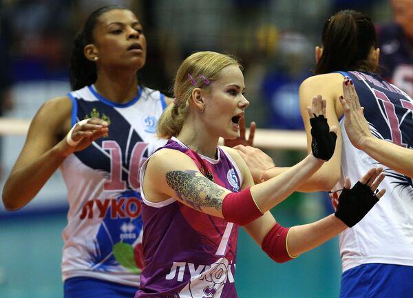 Фернанда Гарай Родригес (слева) и Светлана Крючкова