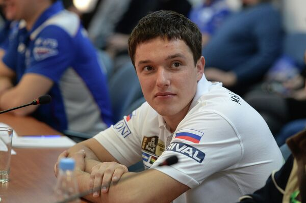 Участник ралли Дакар в зачете Quad (квадроциклы) Сергей Карякин