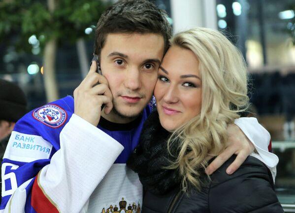 Владимир Брюквин с девушкой