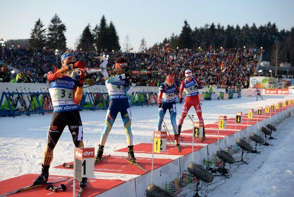Слева направо: Эрик Лессер (Германия), Артем Тищенко (Украина), Алексей Волков (Россия), Хенрик Л'Абе-Лунн (Норвегия)