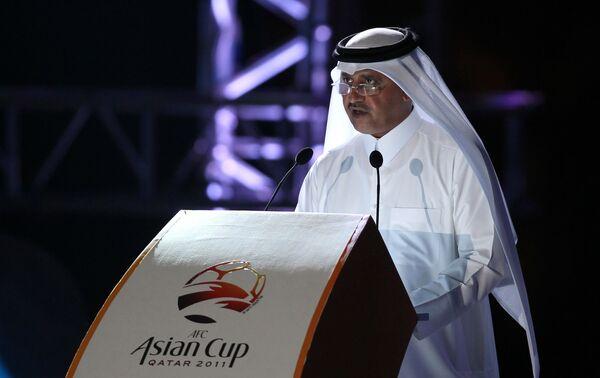 Вице-президент Футбольной ассоциации Катара Сауд аль-Моханнади.