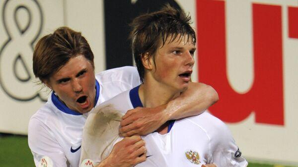 Дмитрий Торбинский и Андрей Аршавин (слева направо)