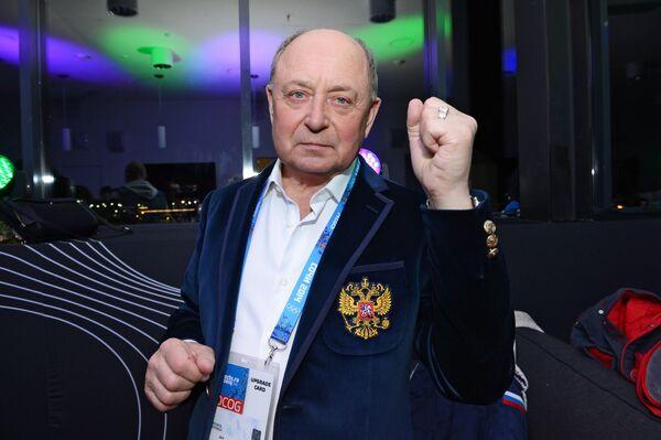 Тренер по фигурному катанию Алексей Мишин