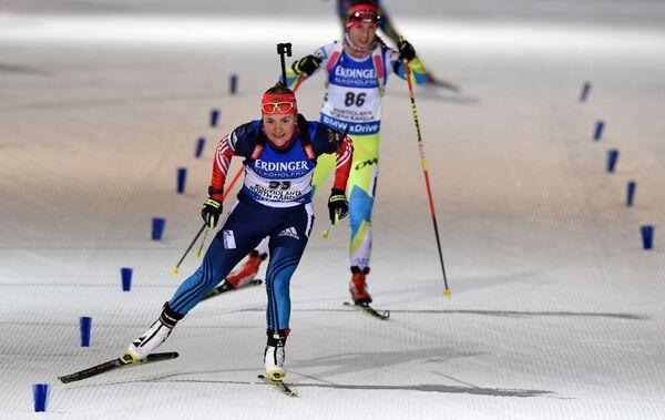 Екатерина Юрлова на дистанции