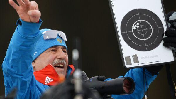 Старший тренер мужской сборной России по биатлону Александр Касперович