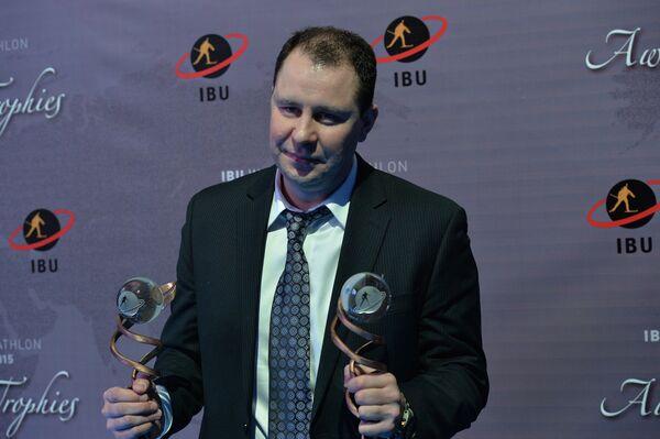 Исполнительный директор Союза биатлонистов России (СБР) Сергей Костин
