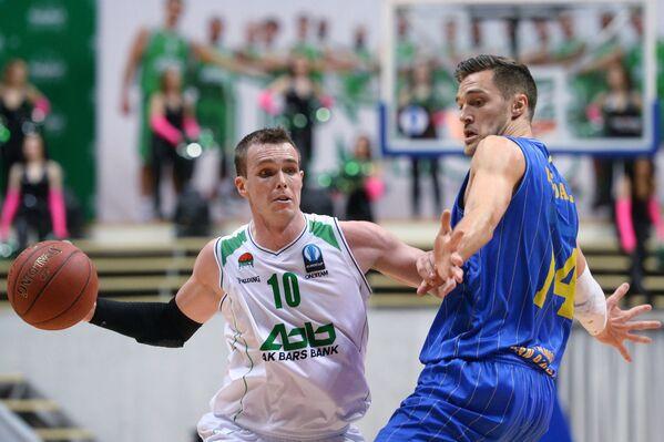 Сергей Быков (слева) и Левон Кэндэлл