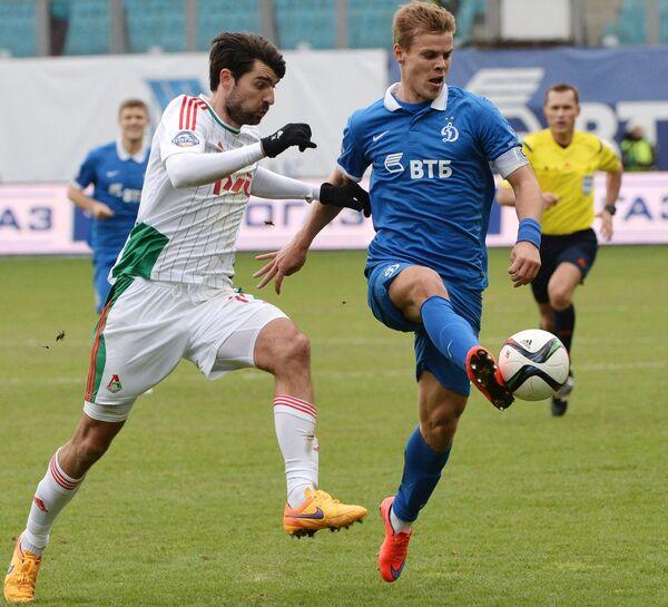 Ведран Чорлука и Александр Кокорин (справа)
