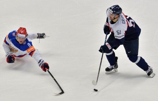Хоккей. Чемпионат мира - 2015. Матч Словакия - Россия