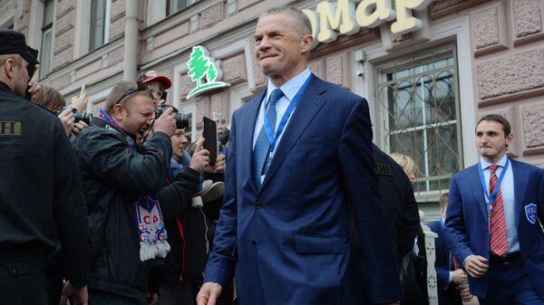 Заместитель председателя правления ОАО Газпром Александр Медведев