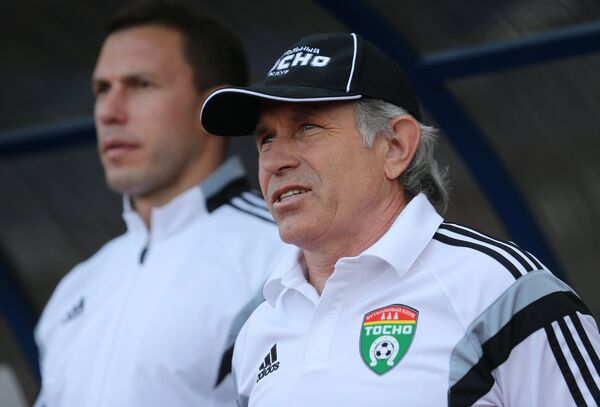 Главный тренер Тосно Евгений Перевертайло