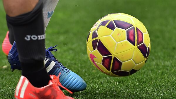 Футбольный мяч итальянской Серии А