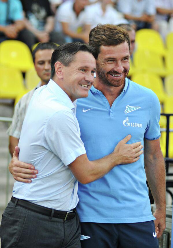 Дмитрий Аленичев (слева) и Андре Виллаш-Боаш