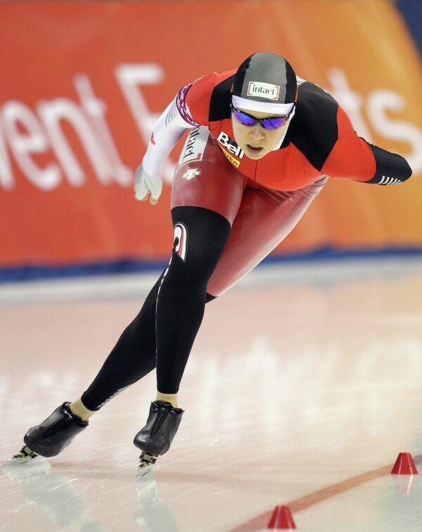 Канадская конькобежка Синди Классен