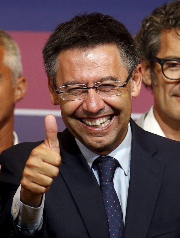 Президент ФК Барселона Хосеп Мария Бартомеу