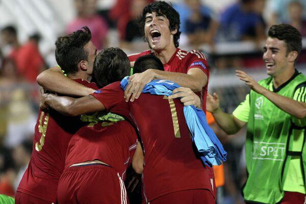 Футболисты юношеской сборной Испании (игроки до 19 лет)