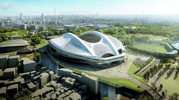 Проект стадиона в Токио к летним Олимпийским играм 2020 года