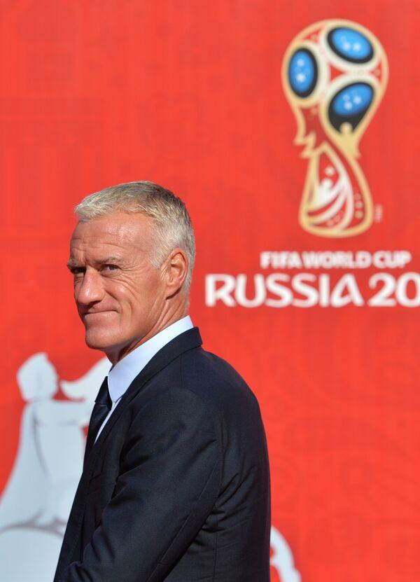 Французский футболист, тренер Дидье Дешам