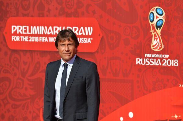 Главный тренер национальной сборной Италии Антонио Конте