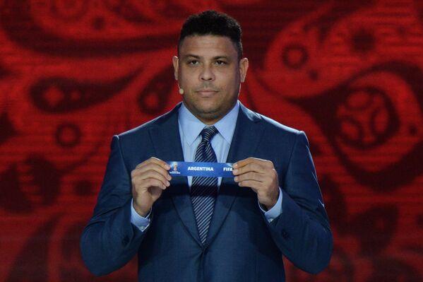 Двукратный чемпион мира бразилец Роналдо