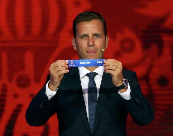 Менеджер национальной сборной Германии по футболу Оливер Бирхофф