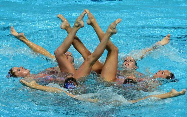 Спортсменки сборной Испании