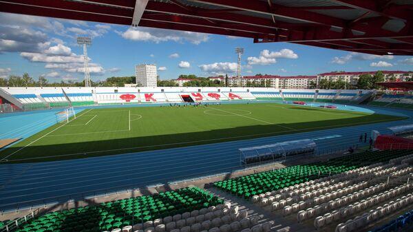 Подготовка к открытию стадиона Нефтяник в Уфе
