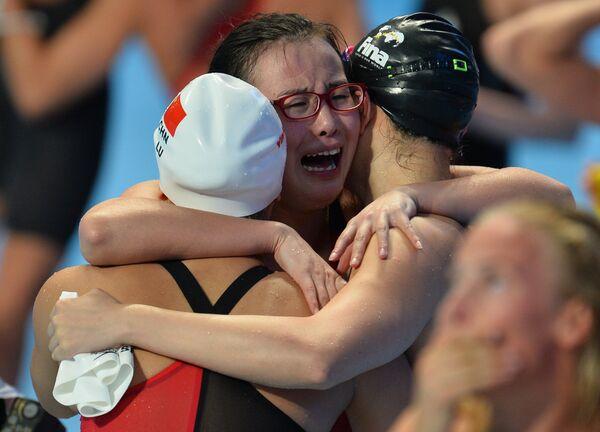 Пловчихи сборной Китая
