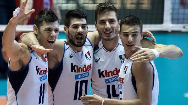 Волейболисты сборной Италии