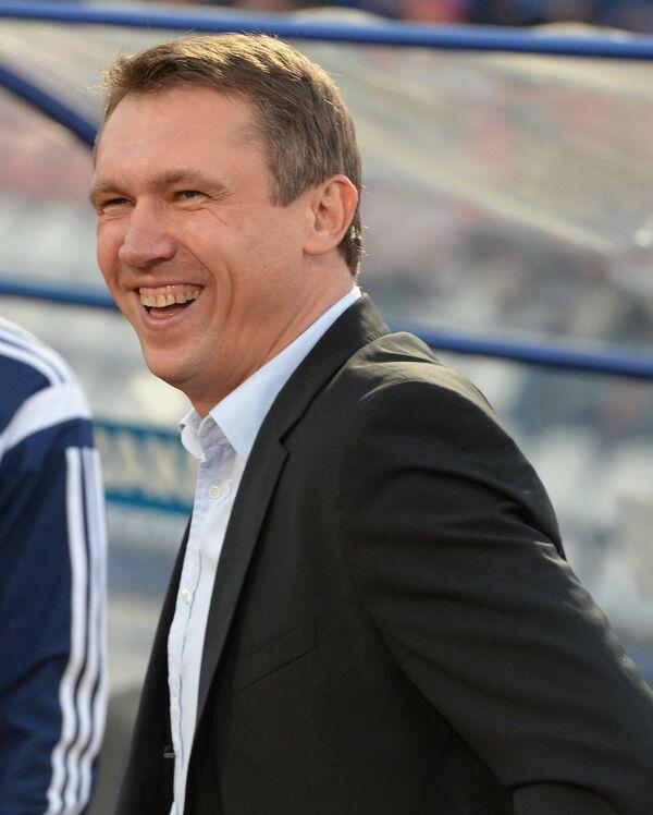 Главный тренер ФК Волга (Нижний Новгород) Андрей Талалаев