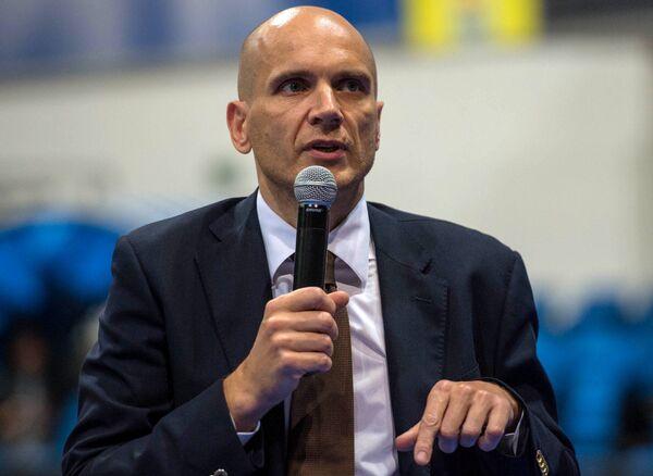 Президент баскетбольного клуба Химки Дмитрий Голубков