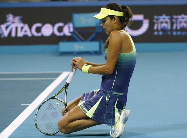 Ана Иванович на теннисном турнире в Пекине
