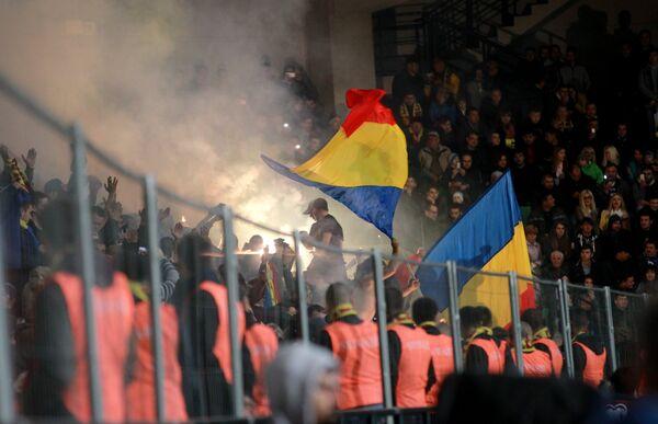 Болельщики сборной Молдавии по футболу