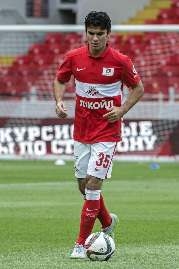 Защитник Спартака Сердар Таски