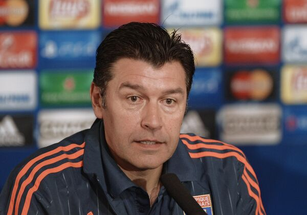 Главный тренер Лиона Юбер Фурнье