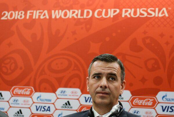 Исполняющий обязанности Генерального секретаря ФИФА Маркус Каттнер