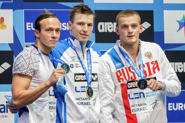 Евгений Цуркин, Андрей Говоров и Александр Попков (слева направо)