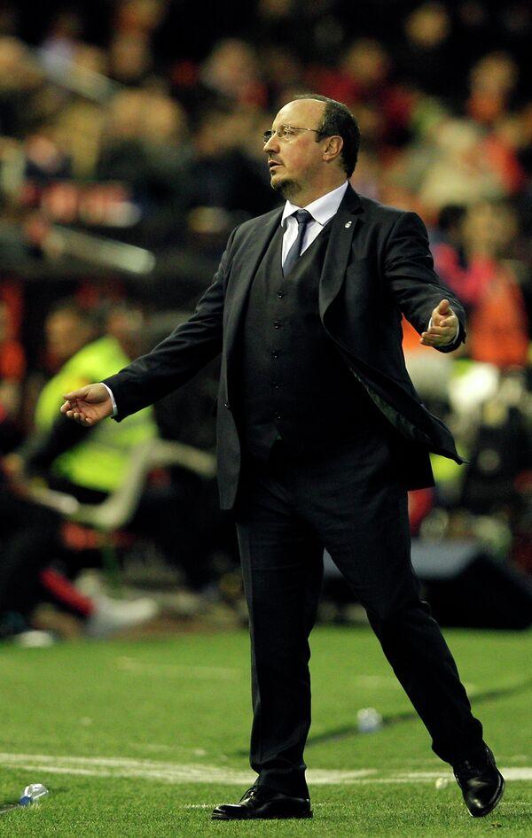 Главный тренер мадридского Реала Рафаэль Бенитес