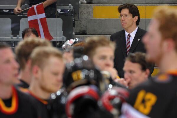 Главный тренер сборной Германии по хоккею Уве Крупп