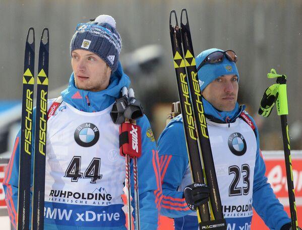 Максим Цветков и Алексей Волков (слева направо)