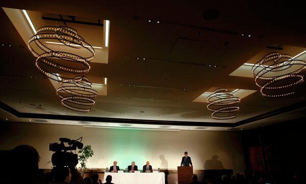 Пресс-конференция независимой комиссии WADA