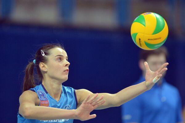 Доигровщица ЖВК Динамо (Москва) Яна Щербань