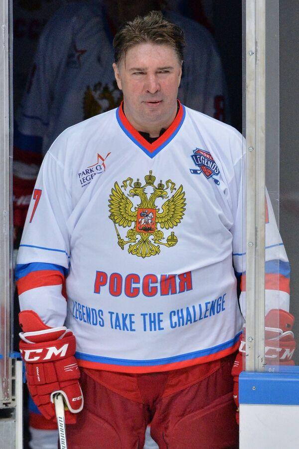 Форвард сборной России Алексей Касатонов