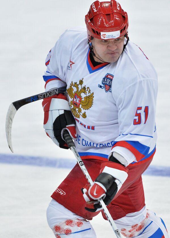 Форвард сборной России Андрей Коваленко