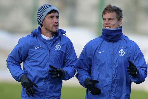 Юрий Жирков (слева) и Александр Кокорин