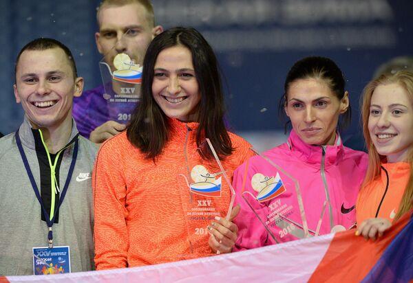 Победители легкоатлетического турнира Русская зима - 2016