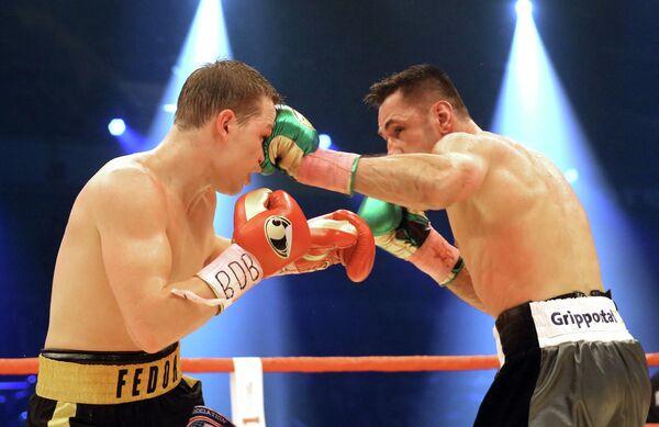 Федор Чудинов и Феликс Штурм (слева направо)