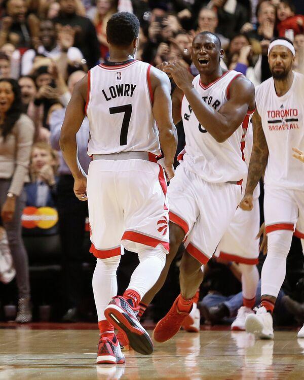 Защитник клуба НБА Торонто Рэпторс Кайл Лоури (№7)