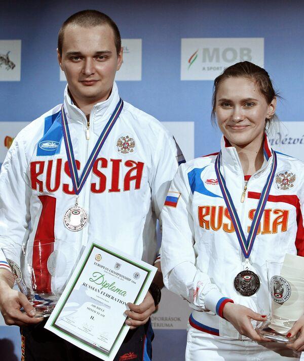 Дарья Вдовина и Владимир Масленников