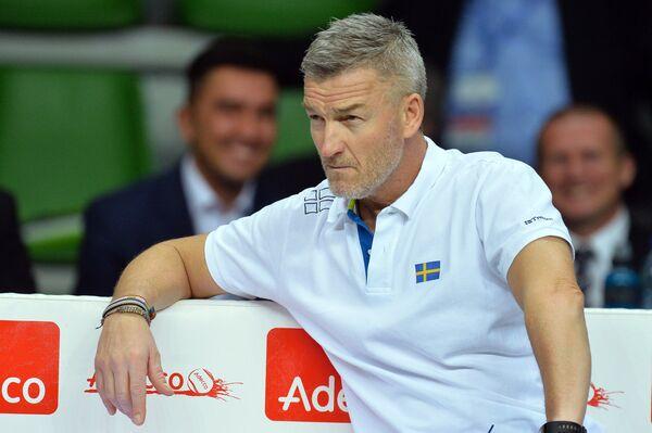 Капитан сборной Швеции по теннису Фредерик Розенгрен